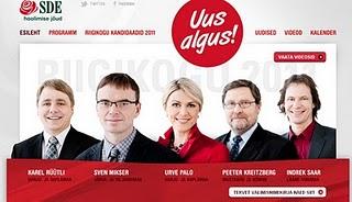 Igaunijā uzvar sociāldemokrāti